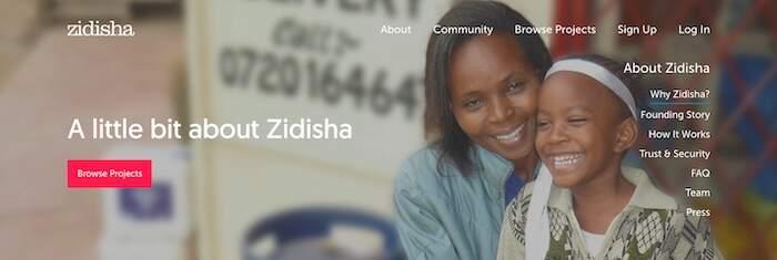 Zidisha person-to-person micro-loans