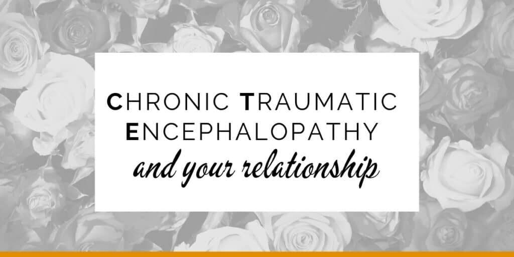 Banner: Chronic Traumatic Encephalopathy