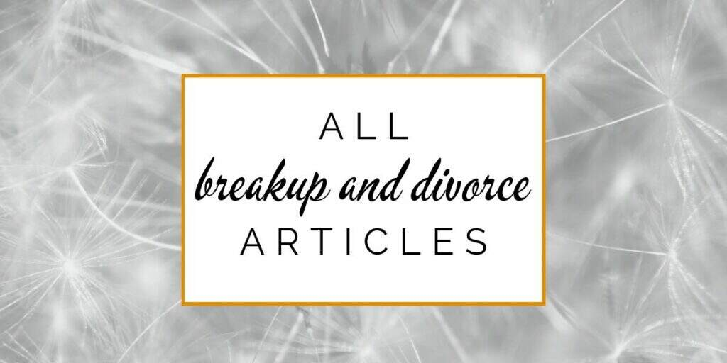 All breakup and divorce articles