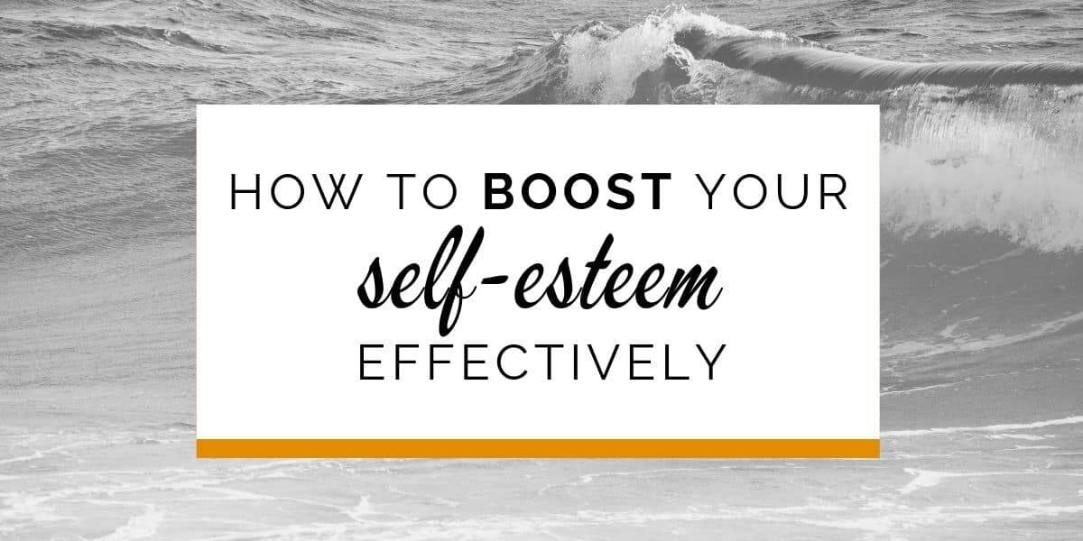 Banner: How to boost self-esteem effectively