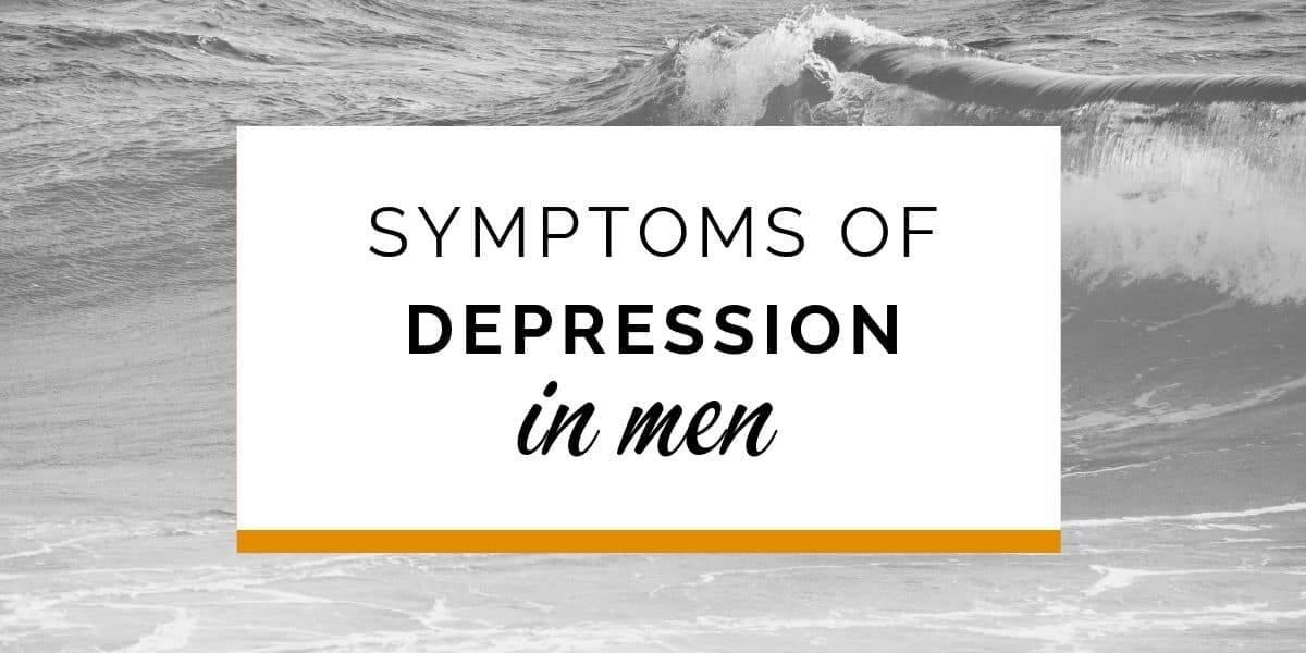 Banner: Symptoms of depression in men