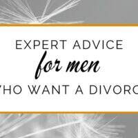 Advice on how to Divorce for men (and women!)
