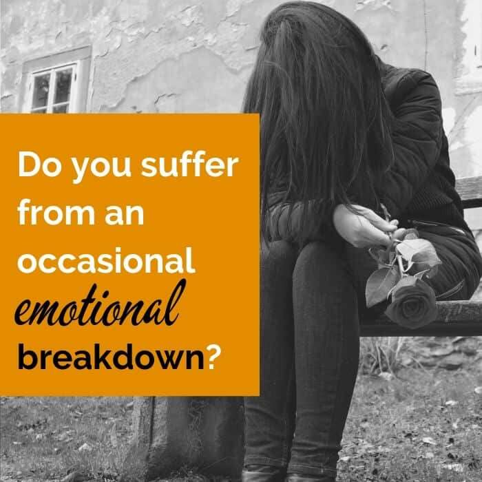 Common nervous breakdown symptoms and those that affect you only