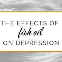 The effects of fish oil on depression