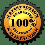 Satisfaction Guarantee: 100%