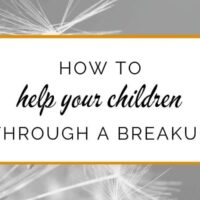How to help your kids through a breakup