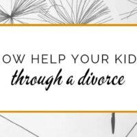 How to help your kids through a divorce