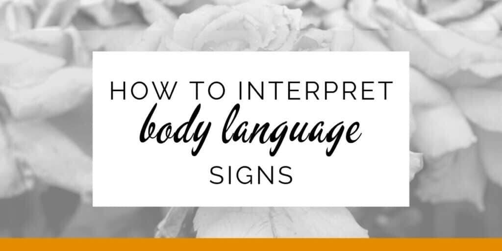 Banner: How to interpret body language signs