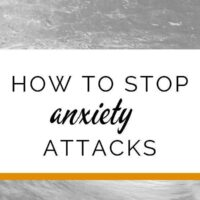 How to stop an anxiety attack (panic attack) in its tracks