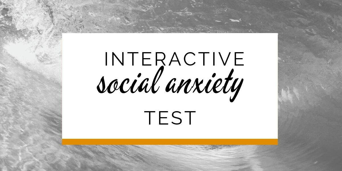 Banner: Interactive social anxiety test