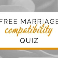 Free quiz with marriage compatibility questions