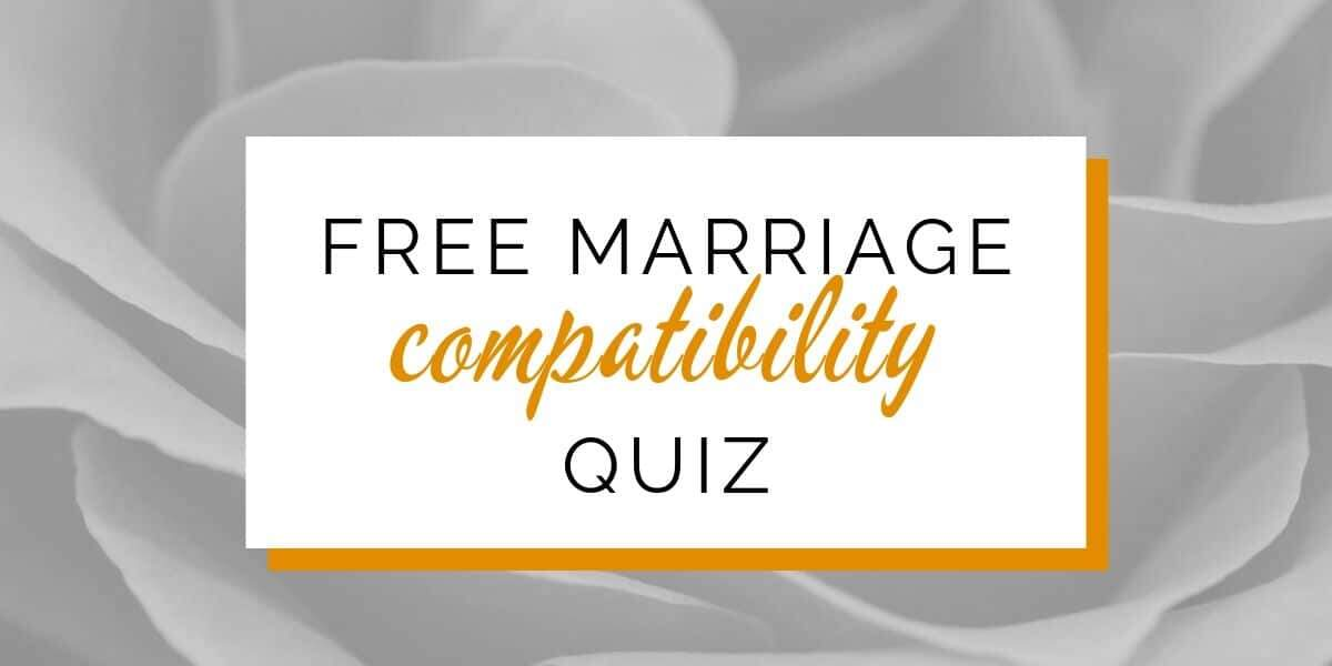 Banner: Free marriage compatibility quiz