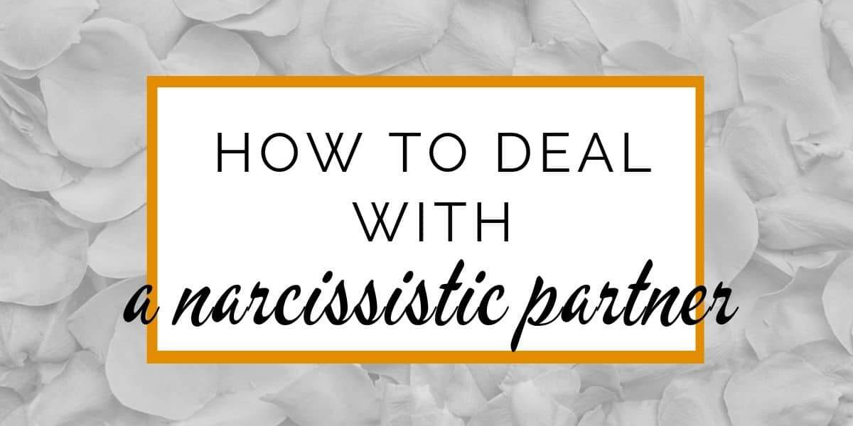 Banner: How to deal with a narcissistic partner