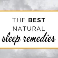The best natural sleep remedies