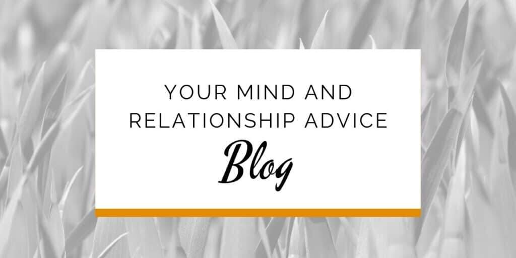 Banner: Your mind and relationship advice blog