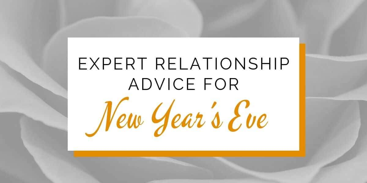 Banner: Expert relationship advice for New Year's Eve