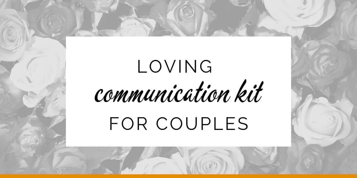Banner: Loving communication kit for couples