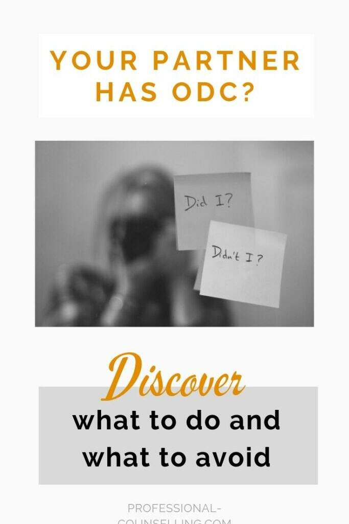 Your partner has OCD? Discover what to do and what to avoid