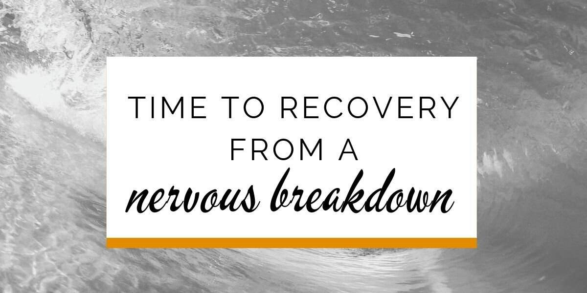 Banner: time to recover from a nervous breakdown