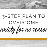 3-Step plan to overcome anxiety 'for no reason'