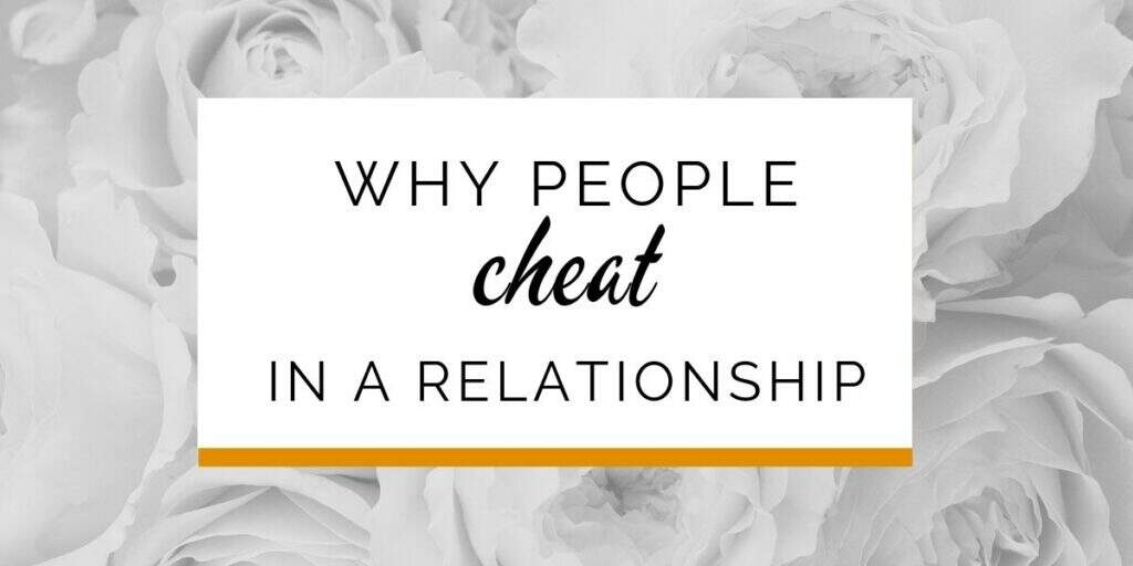 Banner: Why people cheat in a relationship